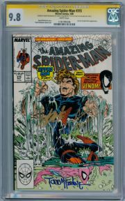 Amazing Spider-man #315 CGC 9.8 Signature Series Signed x3 Stan Lee McFarlane Venom Marvel comic
